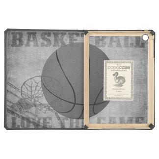 Amor The Game de la bola de la cesta en blanco y n