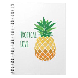 Amor tropical libretas