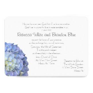 Amor un otro boda cristiano de la escritura invitación 12,7 x 17,8 cm