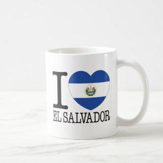 Amor v2 de El Salvador Tazas