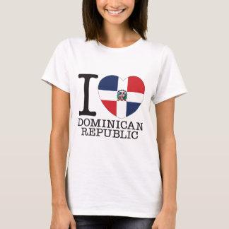 Amor v2 de la República Dominicana Camiseta