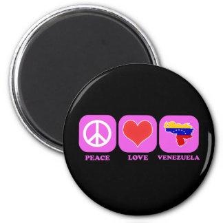Amor Venezuela de la paz Iman De Nevera