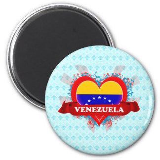 Amor Venezuela del vintage I Iman Para Frigorífico