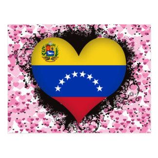 Amor Venezuela del vintage I Postal