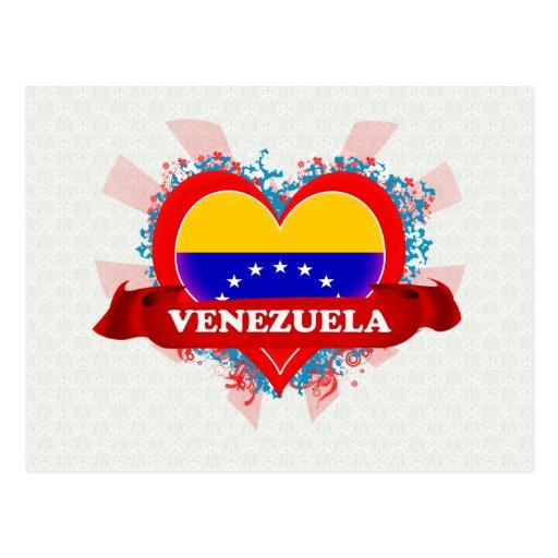 Amor Venezuela del vintage I Tarjeta Postal