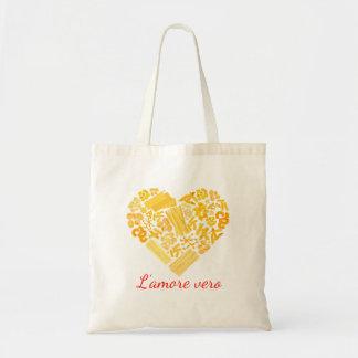 Amor verdadero - bolso italiano de las pastas