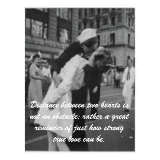 Amor verdadero postal