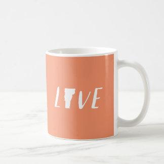 Amor Vermont - blanco en la taza coralina del