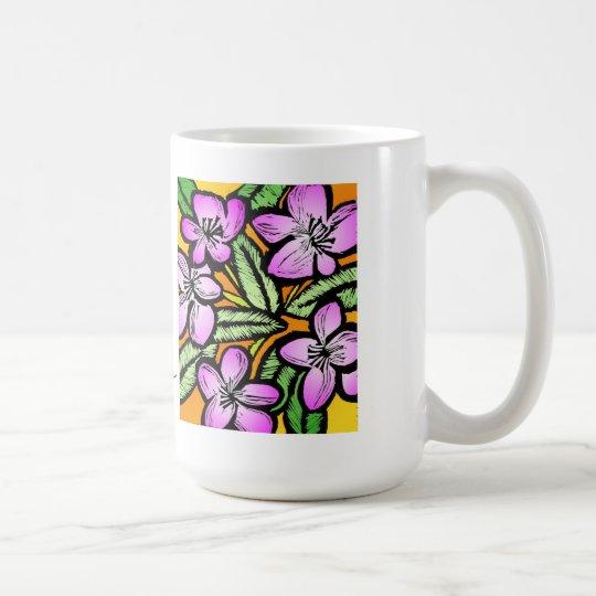 Amor, vida, felicidad taza de café