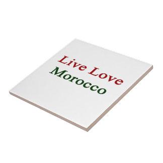 Amor vivo Marruecos Teja Ceramica