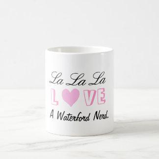 Amor Waterford del La del La del La Taza Básica Blanca