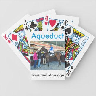 Amor y boda baraja de cartas bicycle