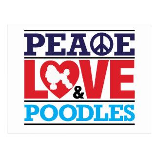 Amor y caniches de la paz postal