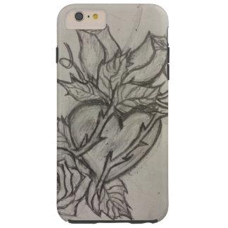 Amor y dolor funda para iPhone 6 plus tough