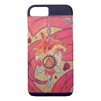 Amor y guerra funda iPhone 7