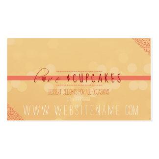amor y magdalenas tarjetas de visita