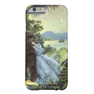 Amor y romance, visión tropical romántica del funda barely there iPhone 6