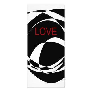Amor y un corazón fuerte lona personalizada