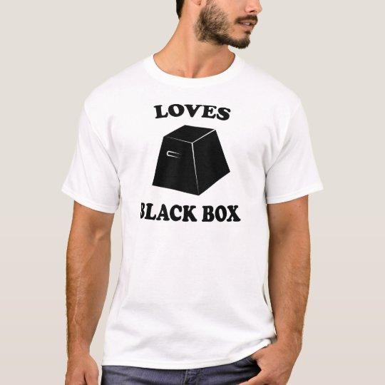 Amores Black Box Camiseta