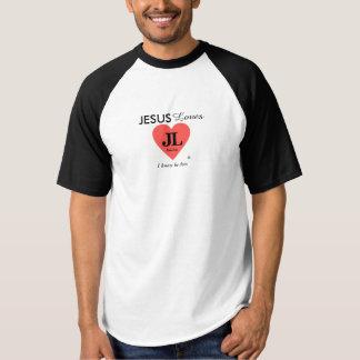 Amores de Jesús que sé que él hace la camiseta del
