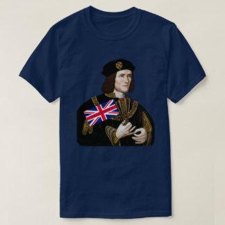 Amores Leicester - Union Jack de rey Richard III Camiseta