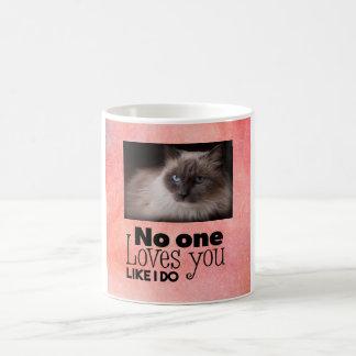 Amores usted como hago la taza de encargo del gato