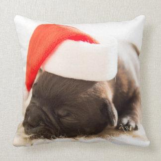 Amortiguador adorable del navidad del perrito cojín decorativo
