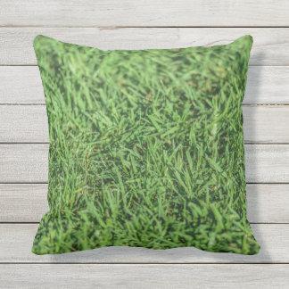 Amortiguador al aire libre verde herboso hermoso cojín de exterior