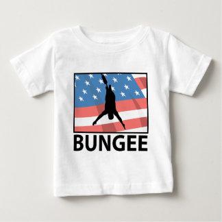 Amortiguador auxiliar que salta en América Camiseta De Bebé