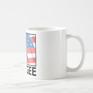 Amortiguador auxiliar que salta en América Taza De Café