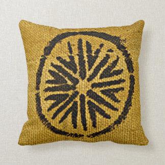 Amortiguador casero africano de la decoración del almohada