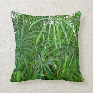 Amortiguador casero asiático de bambú verde de la cojín decorativo