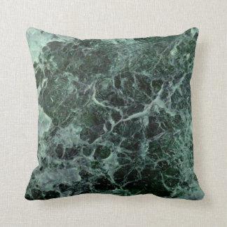 Amortiguador de mármol verde cojín decorativo
