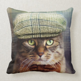Amortiguador del gato de Tabby Cojín Decorativo