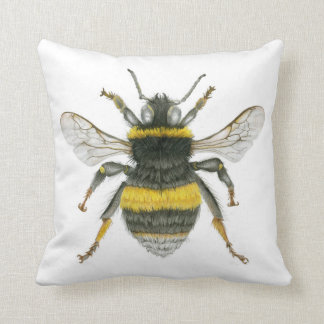 Amortiguador del tiro del abejorro cojín decorativo