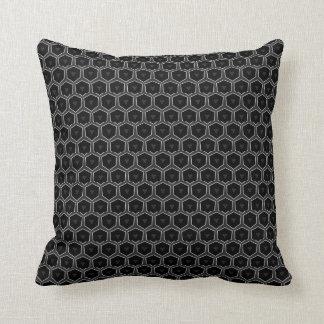 Amortiguador geométrico negro del modelo de la par almohadas