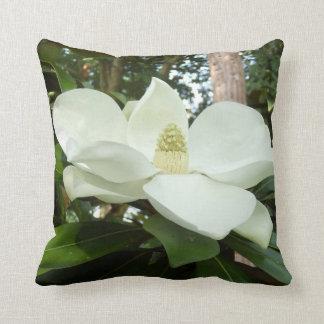 Amortiguador grandiflora del tiro de la magnolia cojín decorativo