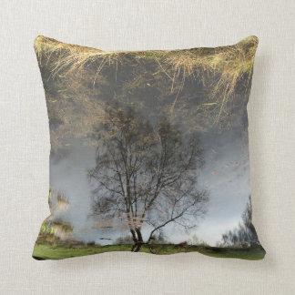 Amortiguador hermoso del árbol de la fotografía de cojín decorativo
