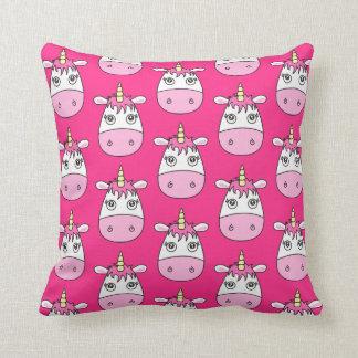 Amortiguador rosado lindo de la almohada del