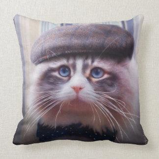 Amortiguador siberiano del gato cojín decorativo