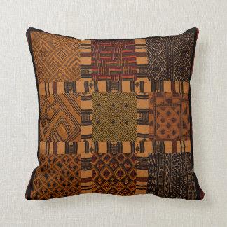 Amortiguador tribal africano de la almohada del