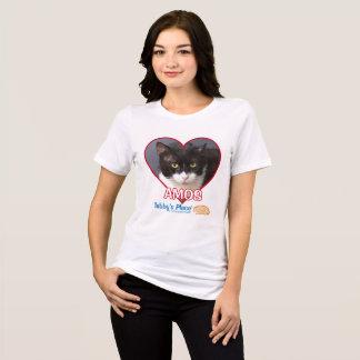 Amos - La camiseta de las mujeres del ajuste