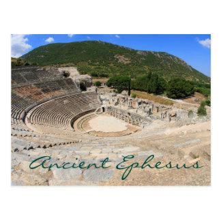 Amphitheatre en el día moderno antiguo Turquía de Postal