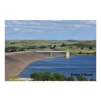 Ampliación de la foto del lago kansas Wilson