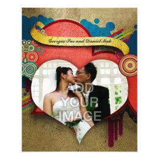 Ampliación de la foto del marco del amor y del cor