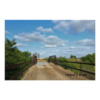 Ampliación de la foto del puente del país viejo de