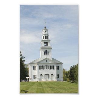 Ampliación de la foto - iglesia de Nueva