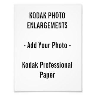"""Ampliaciones de la foto de Kodak 8,5"""" por 11"""""""