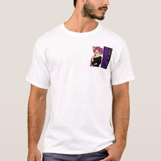 Amy la camiseta del chica del gato
