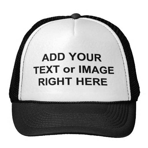 Añada el texto y las imágenes para personalizar lo gorros bordados